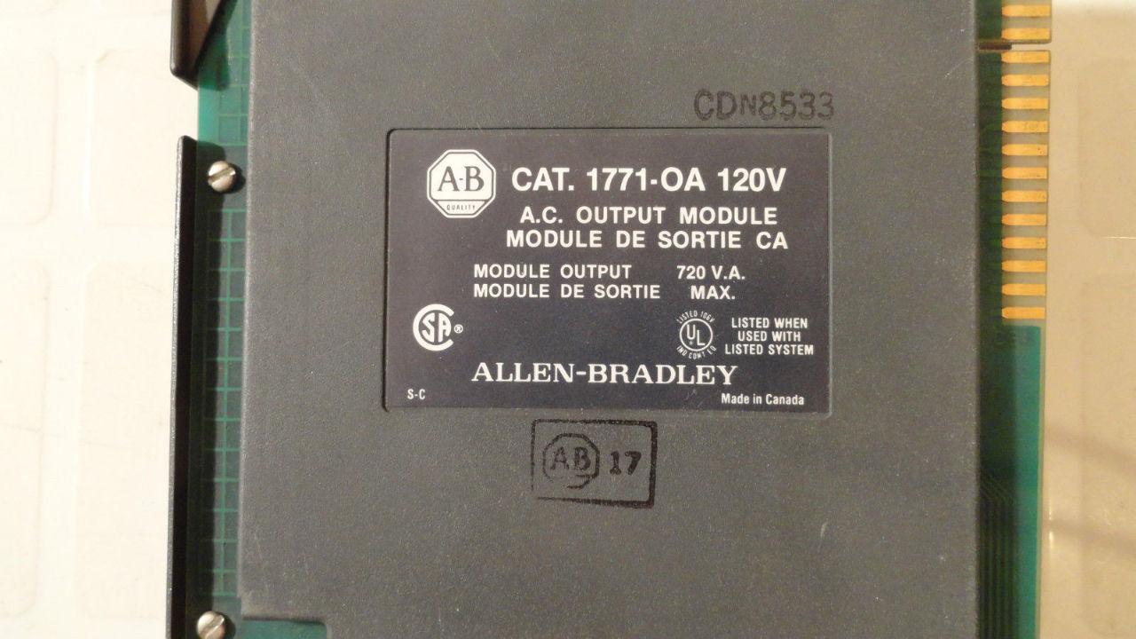 Allen Bradley 1771-OA Module