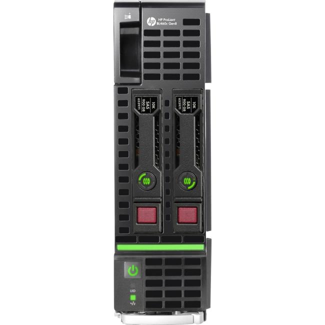 HPE 670656-S01 HP ProLiant BL460c Gen8 E5-2650 2.0GHz 8-core 2P 64GB-R P220