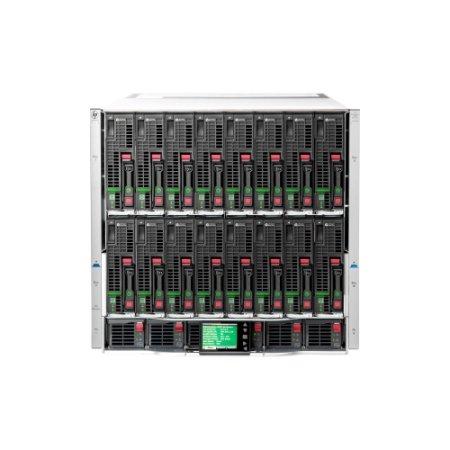HPE 714683-S21 HP BLc7000 Platinum Encl with 2 OA 6 AC Pwr Sppl 10 Fans ROH