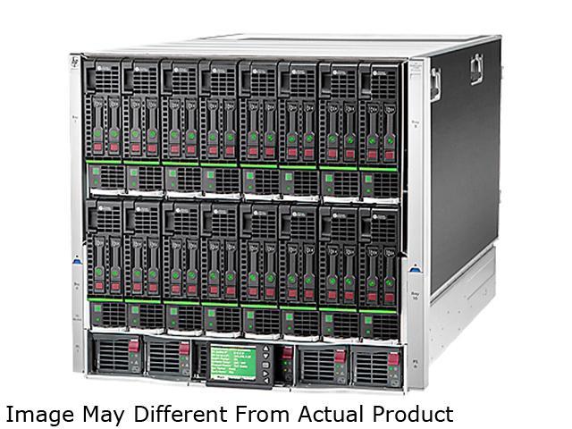 HPE 714684-S21 HP BLc7000 Platinum Encl with 2 OA 6 AC Pwr Sppl 10 Fans ROH