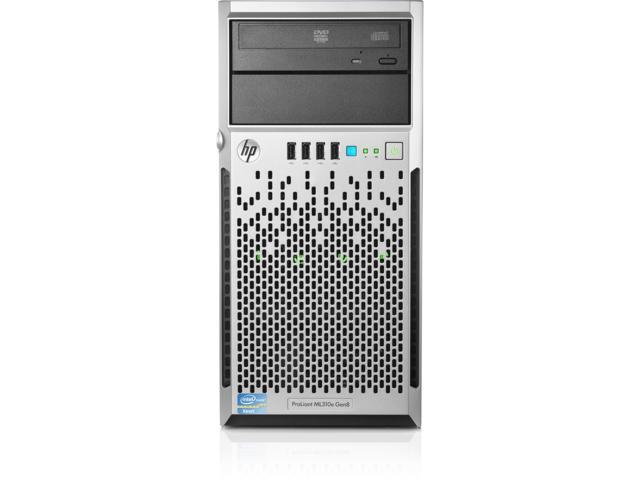 HPE 777882-S01 HP ProLiant ML310e Gen8 v2 E3-1230v3 3.3GHz 4-core 8GB-U 4 L