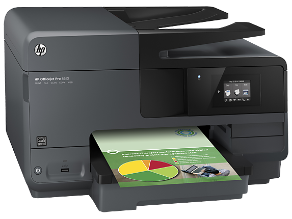 HP A7F64A  Officejet Pro 8610 e-AiO Printer US/Canada - English French and Spanish