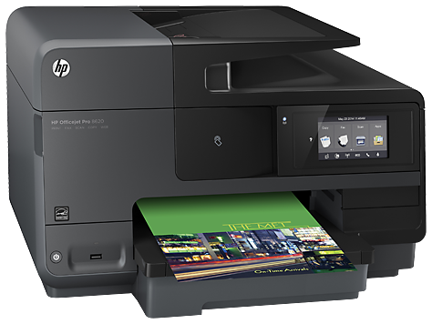 HP A7F65A  Officejet Pro 8620 e-AiO Printer US/Canada - English French and Spanish