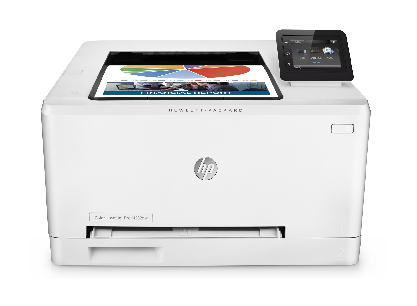 HP B4A22A  Color LaserJet Pro 200 M252dw Printer USCAMXLA (no ARCLBR)-ENESFR