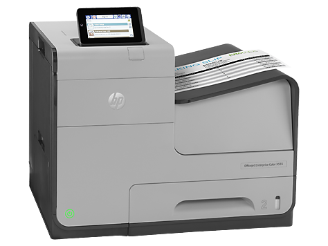 HP C2S12A  Officejet Ent Color X555xh Printer USCAMXLA (no ARCLBR)-ENESFR