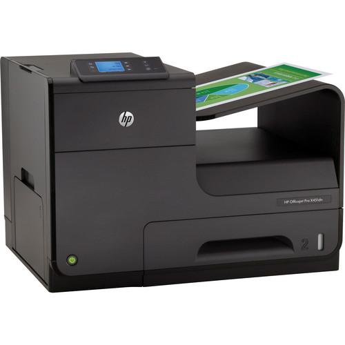 HP CN459A  Officejet Pro X451dn Printer US/Canada - English French and Spanish