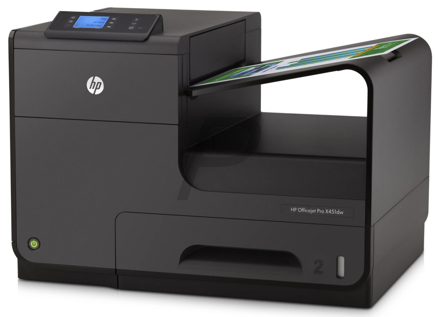 HP CN463A  Officejet Pro X451dw Printer US/Canada - English French and Spanish