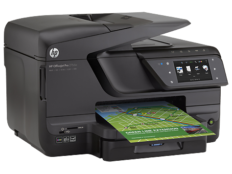 HP CV136A  Officejet Pro 251dw Printer US/Canada - English French and Spanish