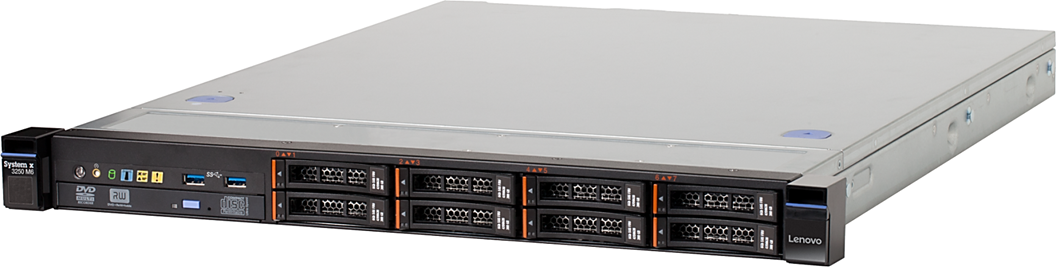 Lenovo 3633K6U System x3250 M6 Intel 1x E3-1240 v5 3.5GHz 2133MHz 4C/8T (80W)