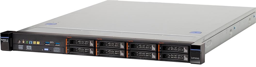 Lenovo 3633K7U System x3250 M6  Intel 1x E3-1270 v5 3.6GHz 2133MHz 4C/8T (80W)