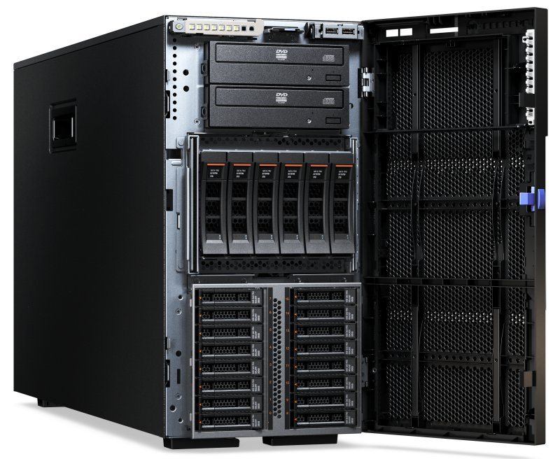 Lenovo 5464-D2x System x3500 M5 Intel Xeon 1x E5-2630 v3 8C 2.4GHz