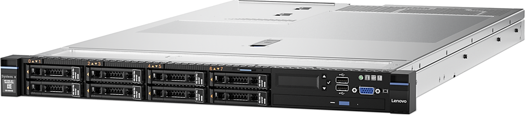 Lenovo 8869F2x System x3550 M5 (E5-2600 v4) Intel Xeon 1x E5-2640 v4 10C 2.4GHz 25MB 2133MHz 90W